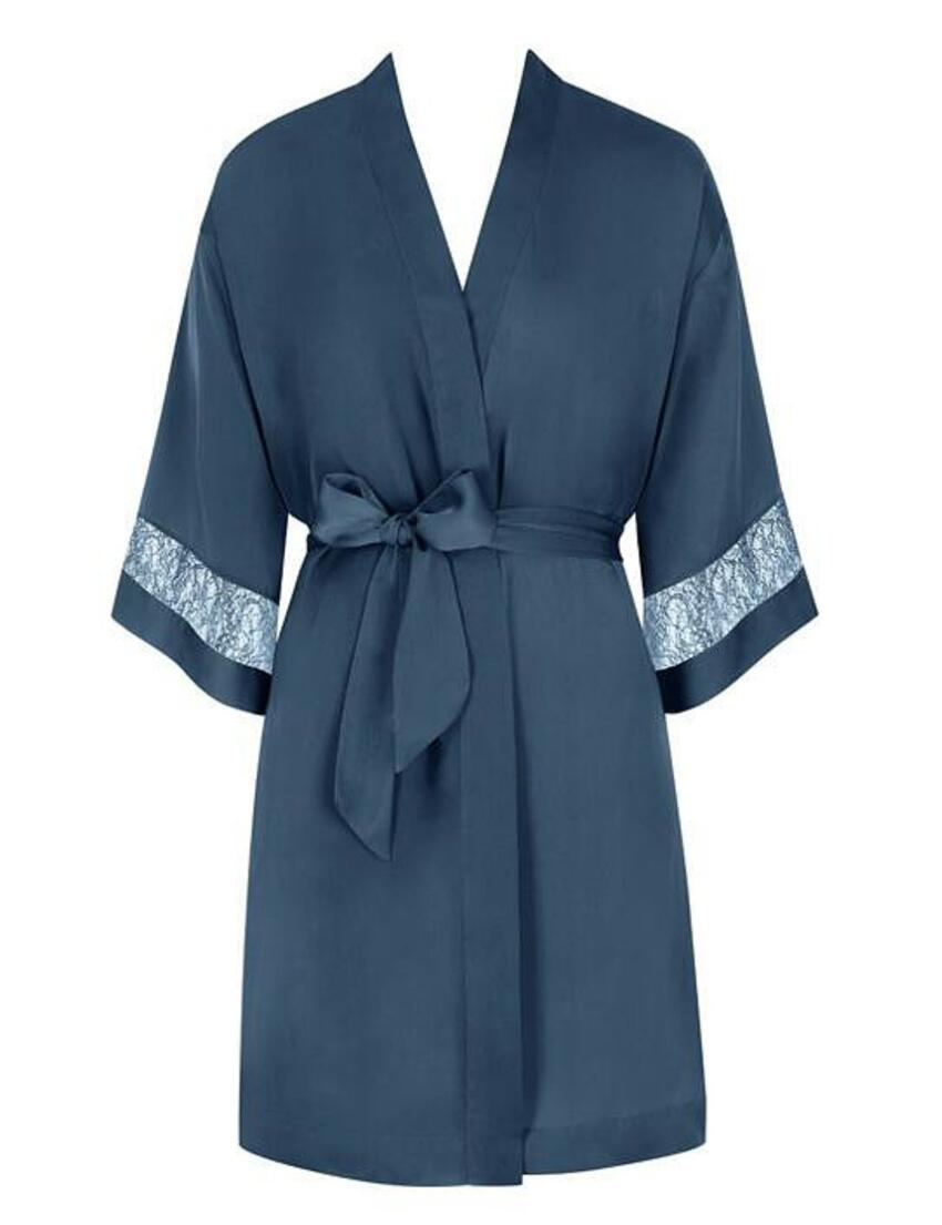 10194926 Triumph Chemises Robe Dressing Gown - 10194926 Stormy Grey