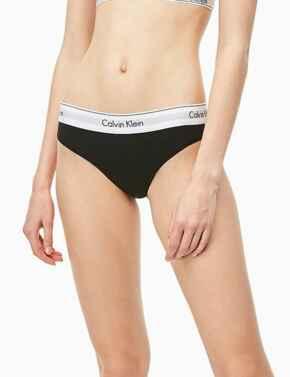 0000F3787E Calvin Klein Modern Cotton Bikini Style Brief  - F3787E Black