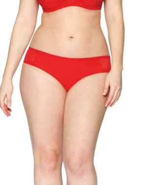 CS001501 Curvy Kate Sheer Class Mini Brief - CS001501 Red