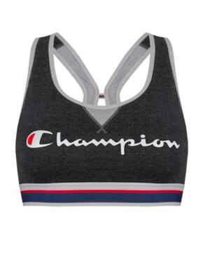 Y08R0 Champion Authentic Crop Top - Y08R0 Heather Grey