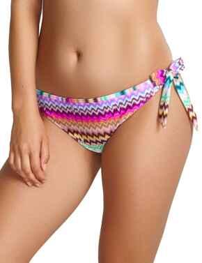 SW1157 Panache Milano Tie Side Bikini Briefs - SW1157 Ikat Print