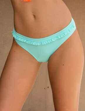 80010 Pour Moi Getaway Ruffle Bikini Brief - 80010 Mint