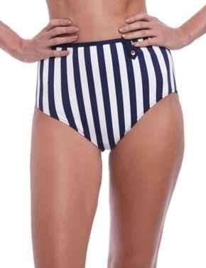 6747 Fantasie Cote D'Azur High Rise Bikini Brief - 6747 Ink