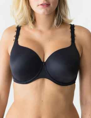 0162342 Prima Donna Perle Padded Full Cup Bra - 0162342/0162343 Charcoal