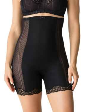 0562585 Prima Donna Couture Shapewear High Brief with Legs - 0562585 Black
