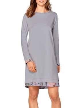 10198964 Triumph Pima Nightdresses Night Dress - 10198964 Moonstone Grey