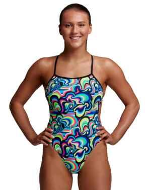 FKS038L026 Funkita Eco Twisted One Piece Swimsuit - FKS038L02680 Gelat OMG