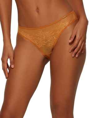 13003 Gossard Glossies Lace Brief - 13003 Spiced Honey