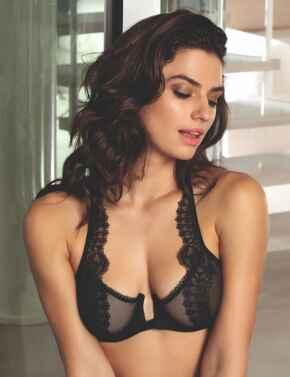ACG7435 Lise Charmel Ecrin Glamour Glam Bra - ACG7435 Black