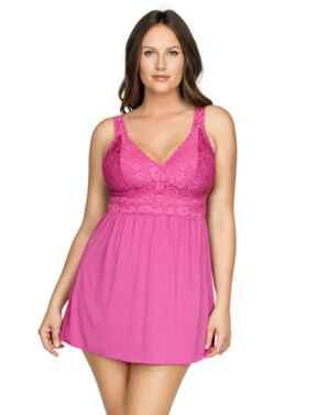 P5488 Parfait Adriana Babydoll - P5488 Raspberry