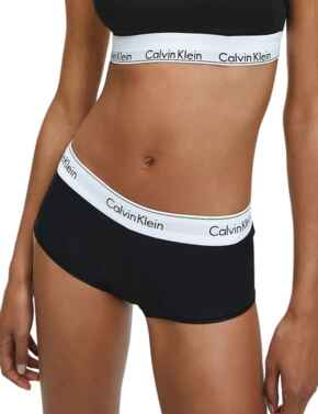 0000F3788E Calvin Klein Modern Cotton Boyshort - F3788E Black