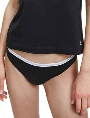 000QD3788E Calvin Klein CK One Thong 2 Pack - QD3788E Black
