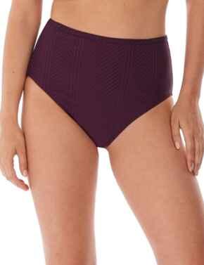 6907 Fantasie Long Island High Waist Bikini Brief - 6907 Vino