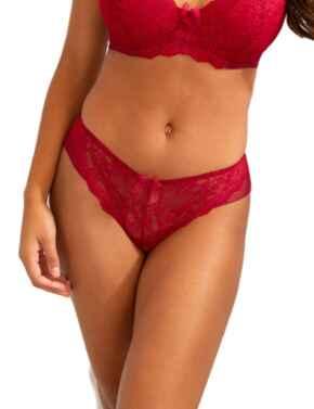 14804 Pour Moi Flora Brazilian Brief - 14804 Red
