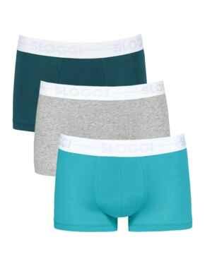 10198171 Sloggi Men Go Hipster Brief 3 Pack - 10198171 Blue/Light Combination