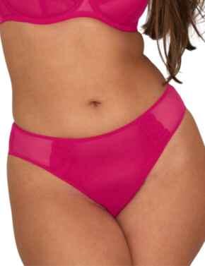Curvy Kate Eye Spy Brazilian Brief in Hot Pink