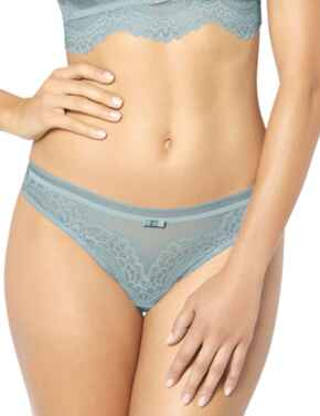 Triumph Beauty-Full Darling String Brief in Sterling Blue