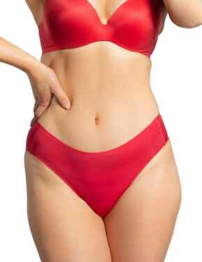 Royal Lounge Intimates Shorty Brief in Scarlet Red