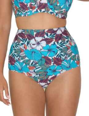Curvy Kate Hibiscus Reversible Bikini Brief in Print Mix
