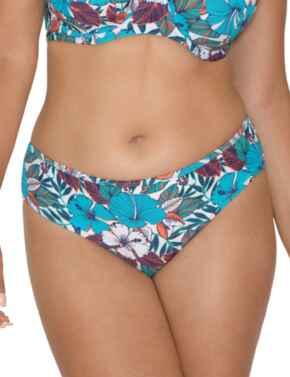 Curvy Kate Hibiscus Classic Bikini Brief in Print Mix