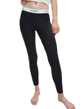 Calvin Klein Modern Cotton Legging Pant in Black