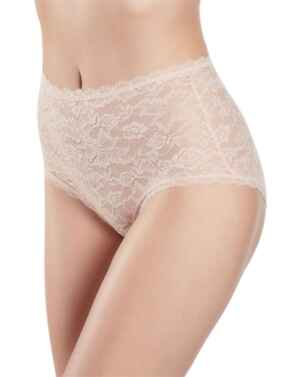Aubade Rosessence High Waisted Brief in Nude Dete