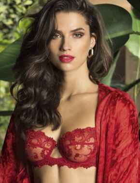 ACC3088 Lise Charmel Dressing Floral Half Cup Bra - ACC3088 Dressing Solaire