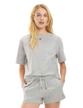 Tommy Hilfiger Flag Core T-Shirt in Grey Heather