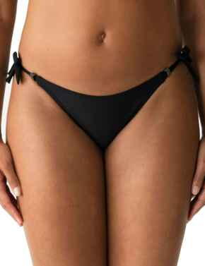 Prima Donna Swim Cocktail Bikini Briefs Waist Ropes Black