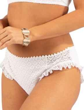 Pour Moi Castaway Bikini Brief White
