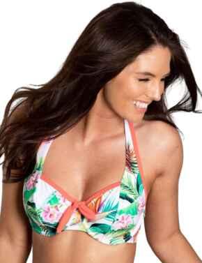 Pour Moi Tropics Halter Bikini Top Multi