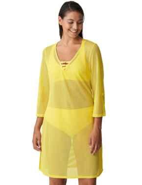 Prima Donna Swim Holiday Swimwear Kaftan Yellow