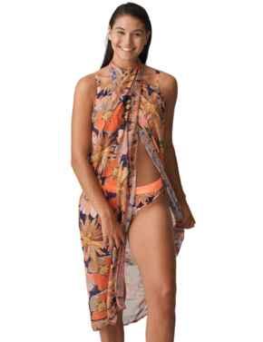 Prima Donna Swim Melanesia Swimwear Pareo Coral Flower