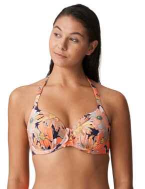 Prima Donna Swim Melanesia Bikini Top Full Cup Padded Coral Flower