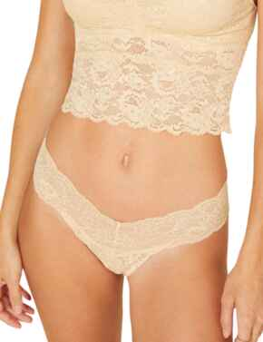 Cosabella Never Say Never Low Rise Thong in Blush