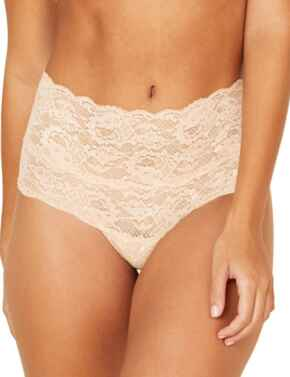 Cosabella Never Say Never High Rise Brief in Sette