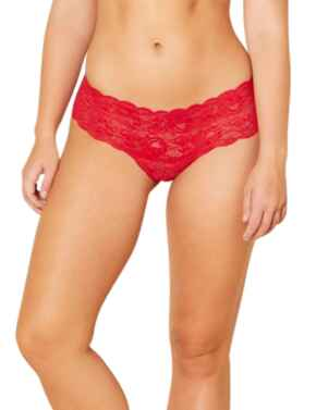 Cosabella Never Say Never Low Rise Hotpant in Mystic Red