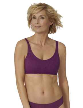 Triumph Fit Smart Padded Bra Top Crushed Berry