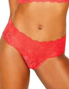 Cosabella Never Say Never Comfy Thong in Rossetto