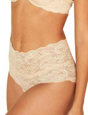 Cosabella Never Say Never High Rise Brief in Blush
