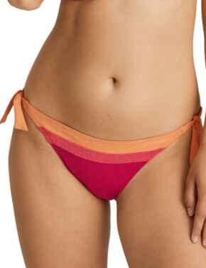 Prima Donna Swim Tanger Bikini Briefs Waist Ropes Pink Sunset
