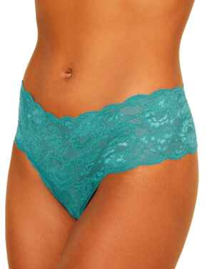 Cosabella Never Say Never Comfy Thong in Light Jade