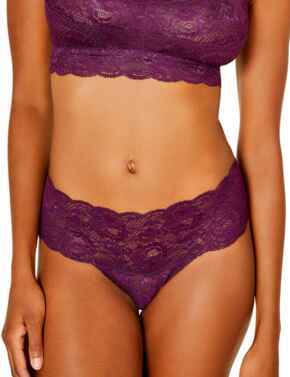 Cosabella Never Say Never Comfy Thong in Deep Purple