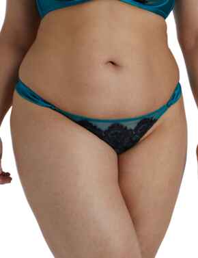 Playful Promises Anneliese Thong Teal