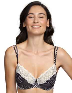 Andres Sarda Flower Full Cup Bra Dots