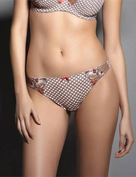 4737 Freya Jenny Luxury Thong Oyster £12.99 - 4737 Oyster