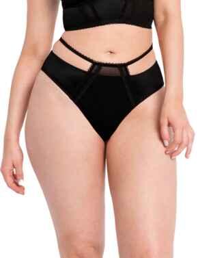 Curvy Kate Extrovert Brazilian Brief Black