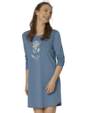 Triumph Nightdresses Nightdress Blue Snow
