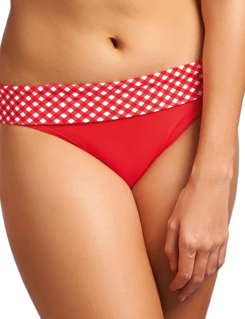 3600 Freya Tootsie Fold Bikini Brief Poppy Red - 3600 Fold Brief