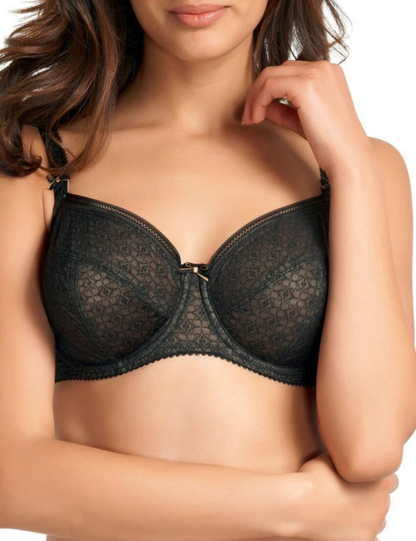 2831 Fantasie Jana Side Support Bra  - 2831 Bra Black
